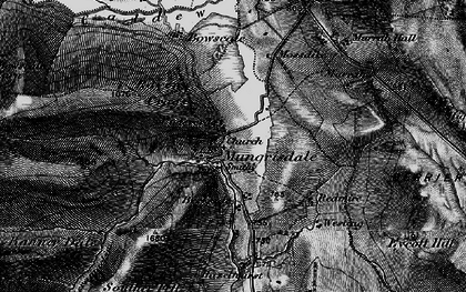 Old map of Wilton Hill in 1897