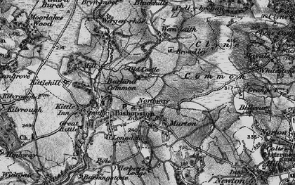 Old map of Murton in 1897