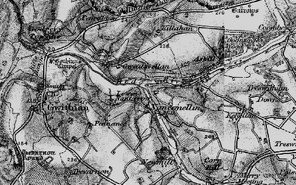 Old map of Nancemellin in 1896