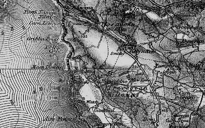 Old map of Aire Point in 1895