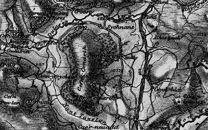 Old map of Alltlwyd in 1899