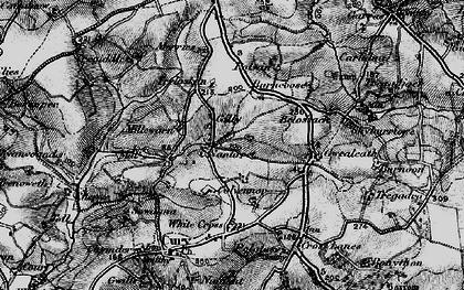 Old map of Nantithet in 1895