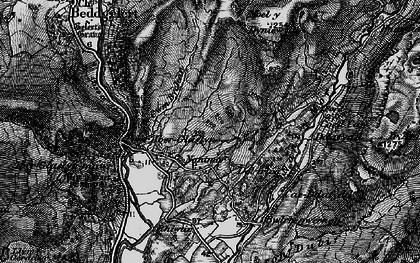 Old map of Yr Arddu in 1899