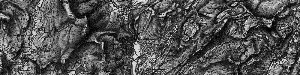 Old map of Nantmor in 1899