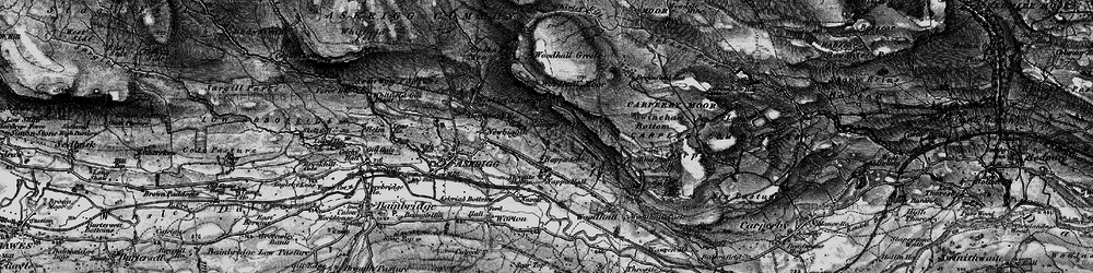 Old map of Whirley Gill in 1897