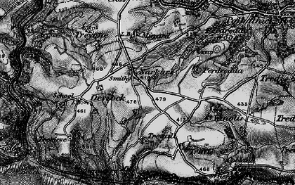 Old map of Narkurs in 1896