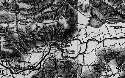 Old map of Windyridge in 1896