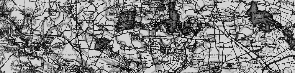 Old map of Neatishead in 1898