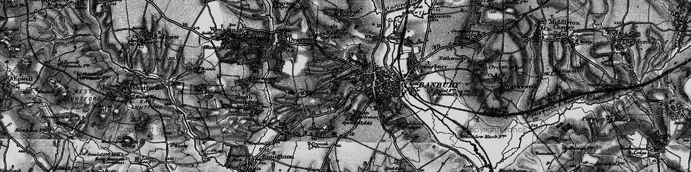 Old map of Withycombe Farm Ho in 1896