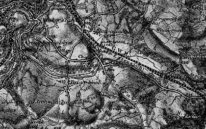 Old map of Nelson in 1897