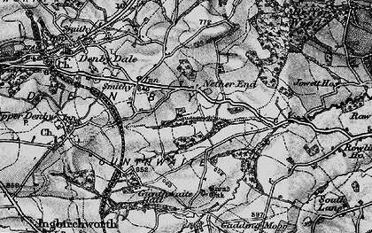 Old map of Ackin Royd in 1896