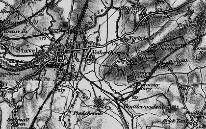 Old map of Netherthorpe in 1896