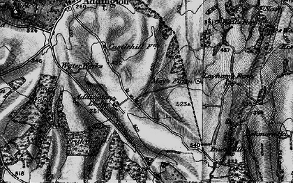 Old map of New Addington in 1895