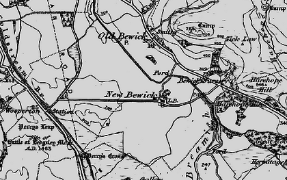 Old map of Tick Law in 1897