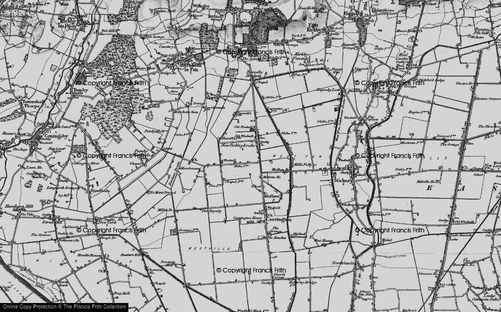 Old Map of New Bolingbroke, 1899 in 1899