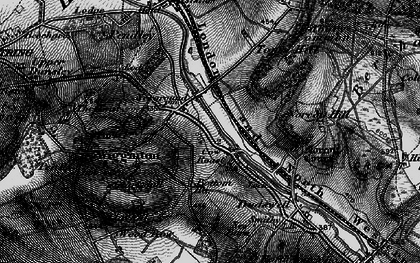 Old map of New Ground in 1896