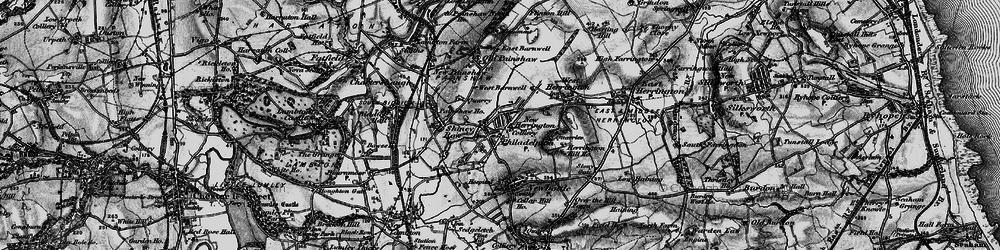Old map of New Herrington in 1898