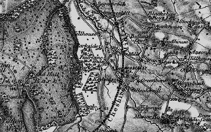 Old map of Yarwood Ho in 1896