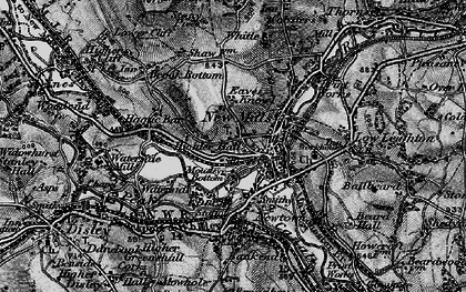 Old map of Whitle in 1896