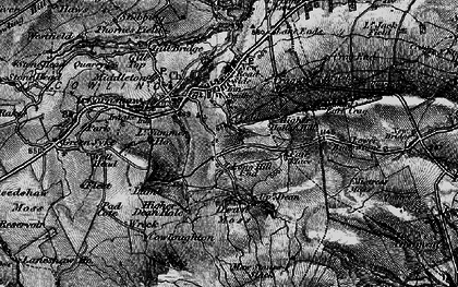 Old map of Bare Hill in 1898