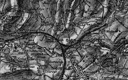 Old map of New Smithy in 1896