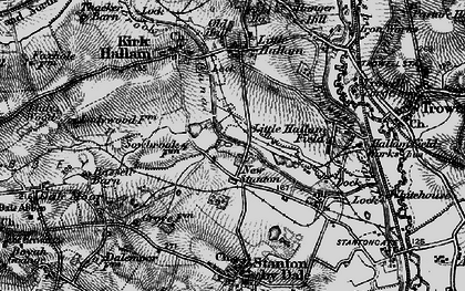 Old map of New Stanton in 1895