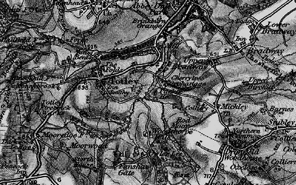 Old map of Woodthorpe Hall in 1896