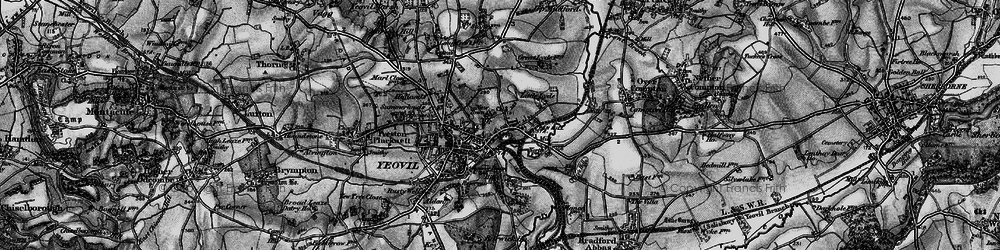 Old map of Tilly's Hill in 1898
