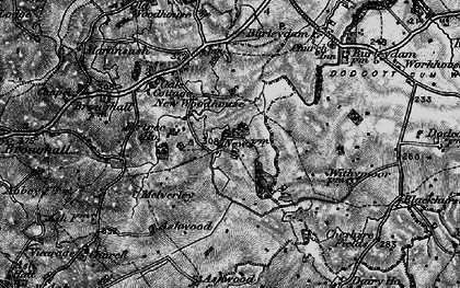 Old map of Ashwood in 1897