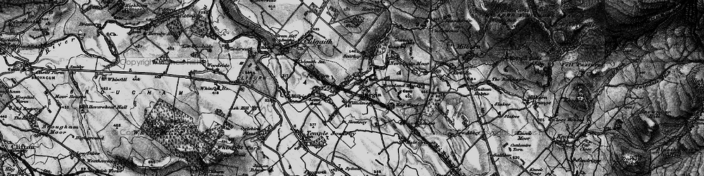 Old map of Williamsgill in 1897