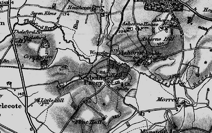 Old map of Woozeley Br in 1898