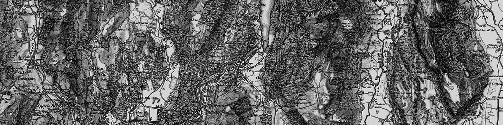 Old map of Whitestone Enclosure in 1897