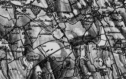 Old map of White Stone in 1897