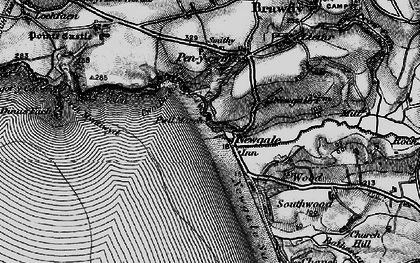 Old map of Newgale in 1898