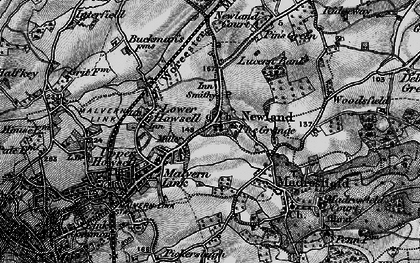 Old map of Newland in 1898