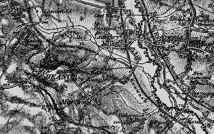 Old map of Newlands in 1895