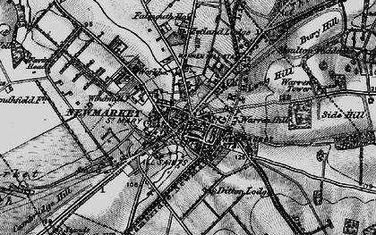Old map of Balaton Lodge in 1898