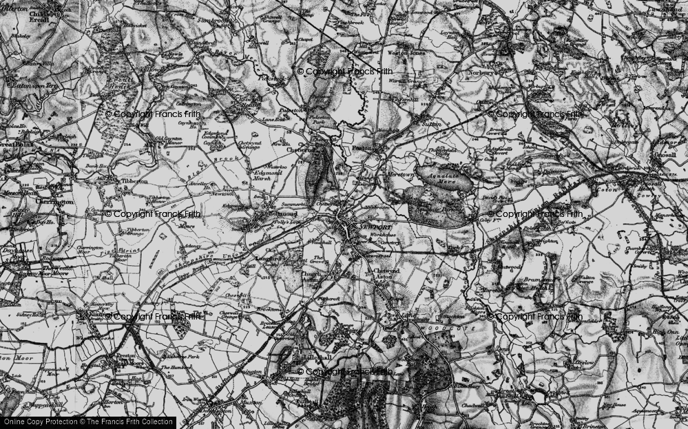 Old Map of Newport, 1897 in 1897