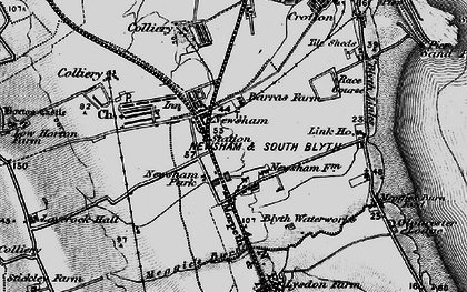 Old map of Link Ho in 1897