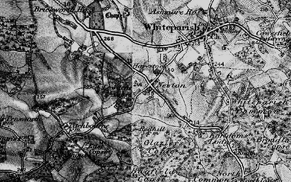 Old map of Bagfield Copse in 1895