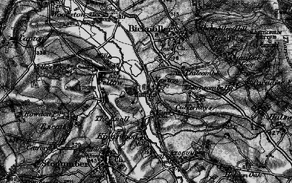 Old map of West Somerset Railway in 1898