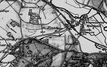 Old map of Lion Lodge in 1895