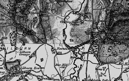 Old map of Lilburn Grange in 1897