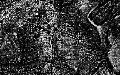 Old map of Whamlands in 1897