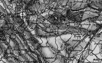 Old map of Ninnes Bridge in 1896