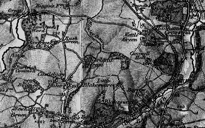 Old map of Nobland Green in 1896