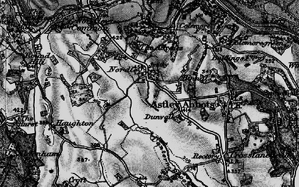 Old map of Albynes, The in 1899