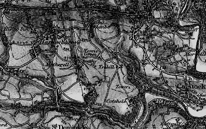 Old map of Norris Green in 1896