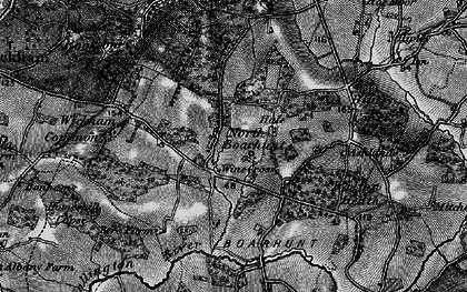 Old map of North Boarhunt in 1895