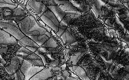 Old map of West Park in 1895